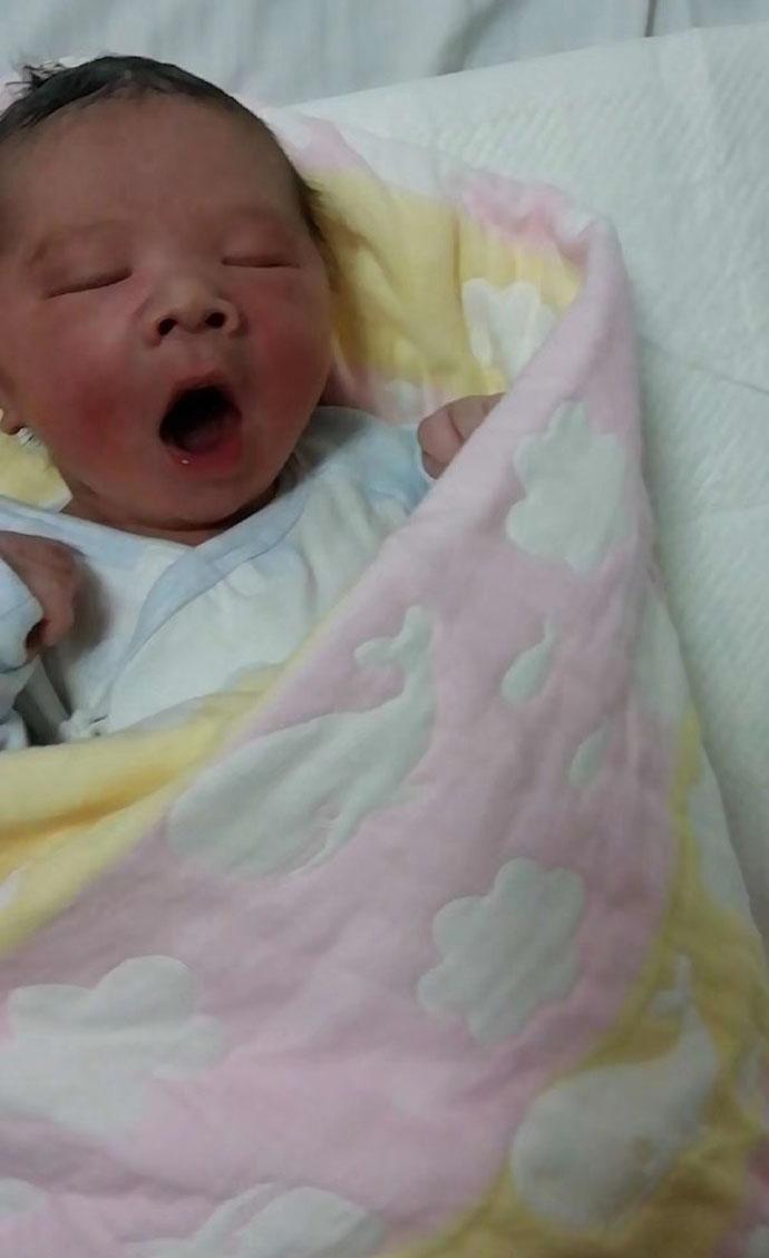 江苏客户王大哥的小公子出生